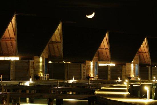 Cocoa Island by COMO : Serene night