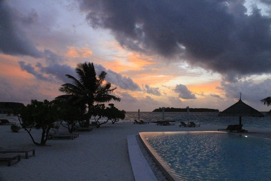 COMO Cocoa Island, The Maldives: The sunset on our last day