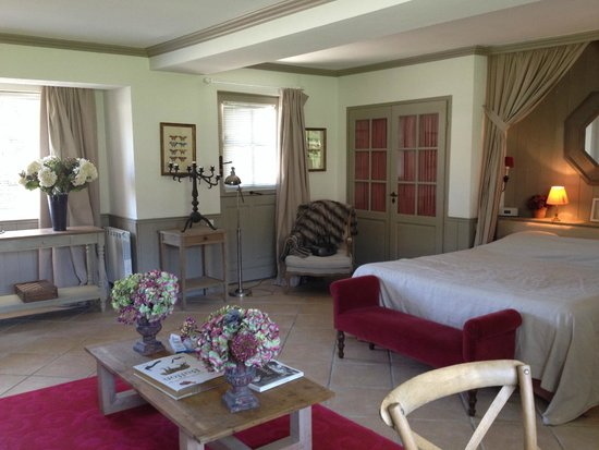 Le Chateau De Courban & Spa : Prestige Suite