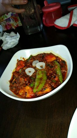 Shama Restaurant: Chicken Tikka Garlic Chilli