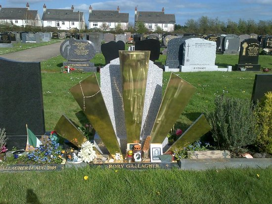 Rory Gallagher Gravesite - St. Olivers Cemetery