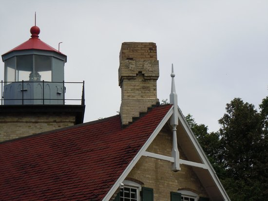 Eagle Bluff Lighthouse: Great lighthouse