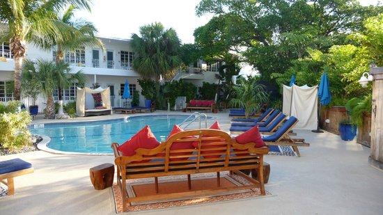 Tradewinds Apartment Hotel : Poolanlage