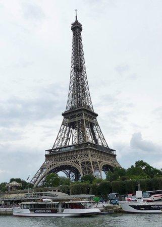 River Seine: Eiffel Tower from the Seine