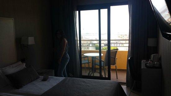 Hotel Isla Mallorca & Spa: balcon
