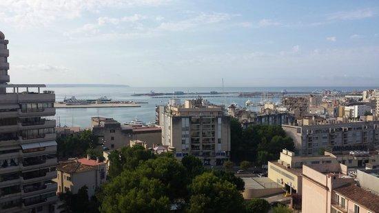 Hotel Isla Mallorca & Spa: vistas de la habitacion 1002, planta 10