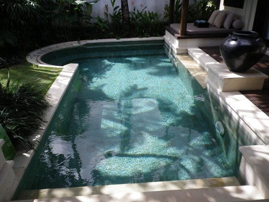 Villa Air Bali Boutique Resort & Spa : プライベートプールは5mくらい