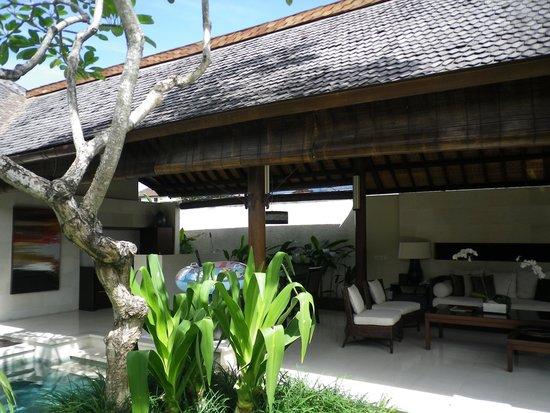 Villa Air Bali Boutique Resort & Spa: 入口から
