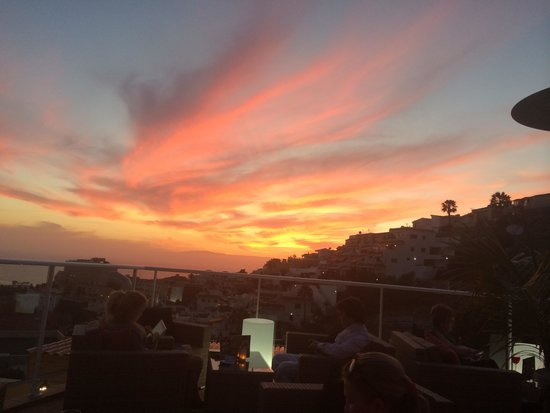 CLC Monterey: View of the sunset from the restaurant