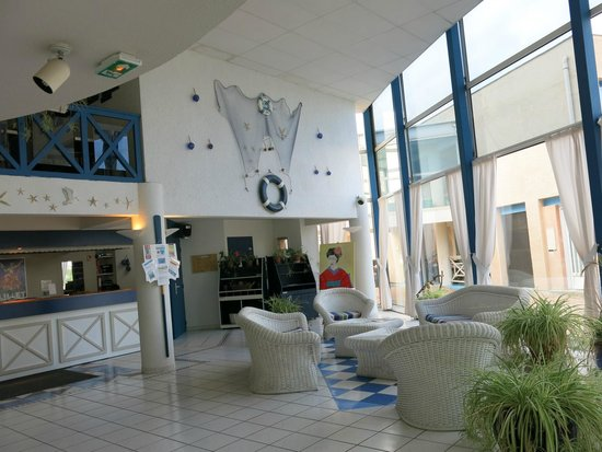 Hotel Residence l'Oceane : l'accueil de l'hotel