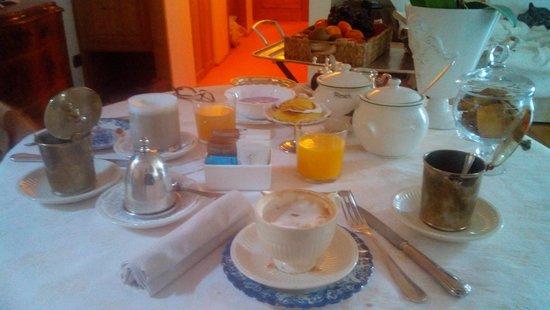Villa Orso Grigio : Colazione in camera