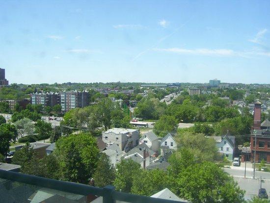 BEST WESTERN PLUS Gatineau-Ottawa: view from small window