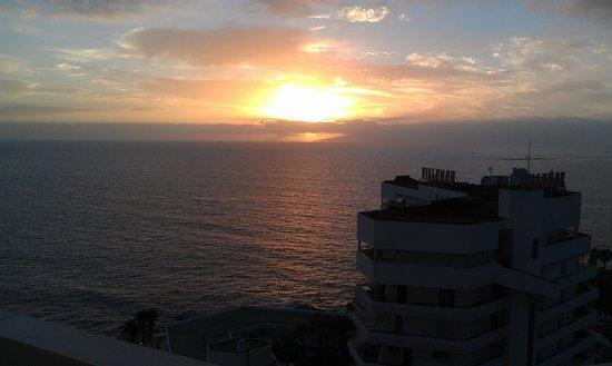 Iberostar Bouganville Playa : Закат с балкона