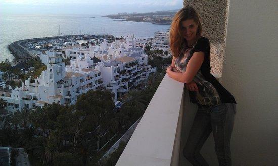 Iberostar Bouganville Playa : Вид с балкона на Порт Колумба