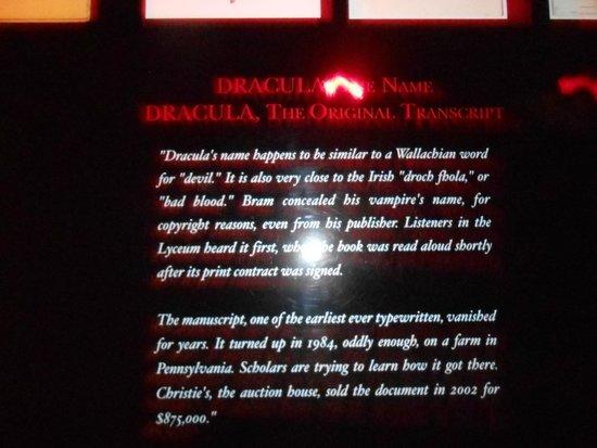 Bram Stoker's Castle Dracula: .
