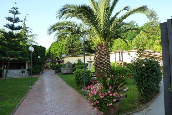 Hotel O Sole Mio: Le jardin
