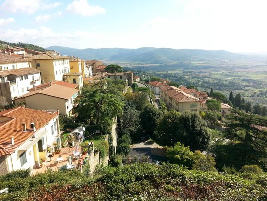 Hotel San Luca: View from near the hotel