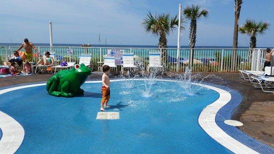 Small Splash Pad Area Picture Of Resort Iniums Panama Condo Hot Tub City Beach Florida