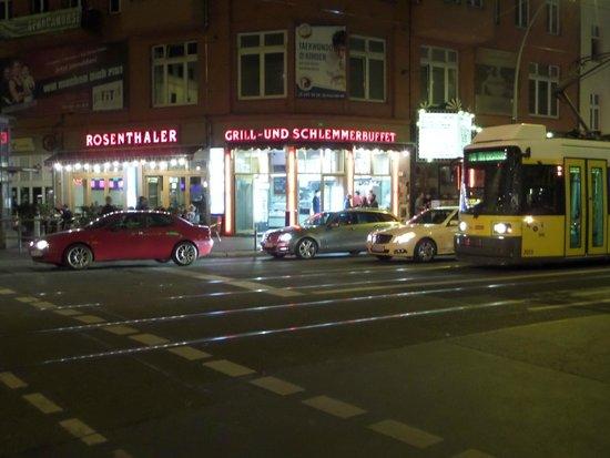 Rosenthaler Grill und Schlemmerbuffet: vista externa