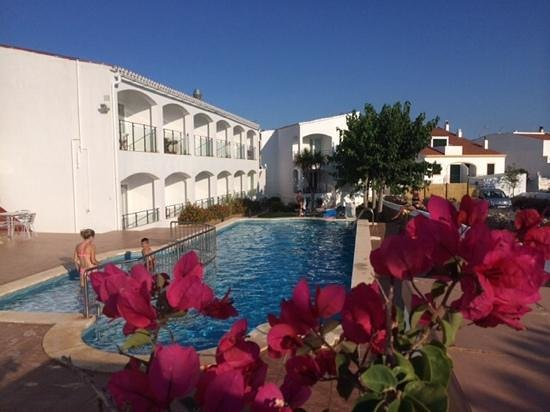 Hostal La Palma: piscine