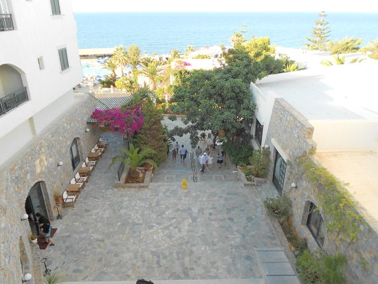 Nana Beach Hotel: view from room
