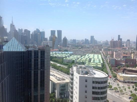 InterContinental Shanghai Pudong: view from 21st floorw intcontinental pudong