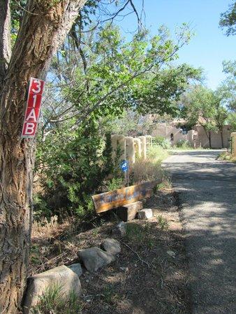 Rancho Gallina: Entrance