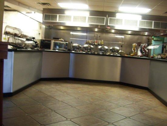 Best Western Orlando Gateway Hotel: breakfast buffet