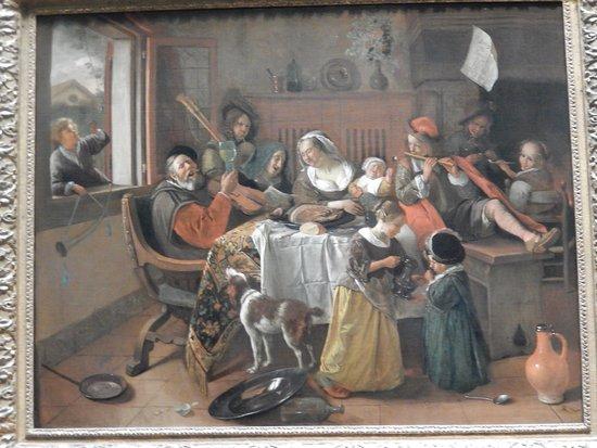 Rijksmuseum (Museo Nacional de Ámsterdam): rijksmuseum - l'allegra famiglia