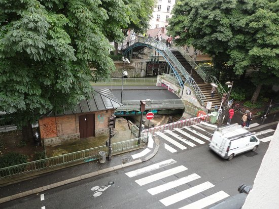Le Citizen Hotel: View from the Window