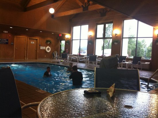 Hampton Inn and Suites Chillicothe : Indoor swimming pool