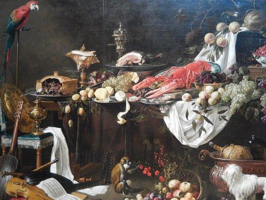 rijksmuseum - benchetto di natura morta