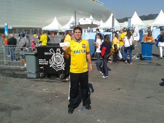 Corinthians Arena: Corinthians na copa