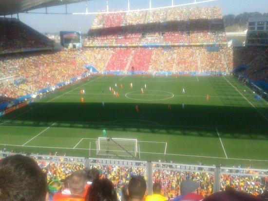 Corinthians Arena: Holanda 2 x 0 Chile