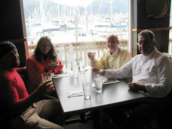 Chinooks Waterfront Restaurant: Great view!