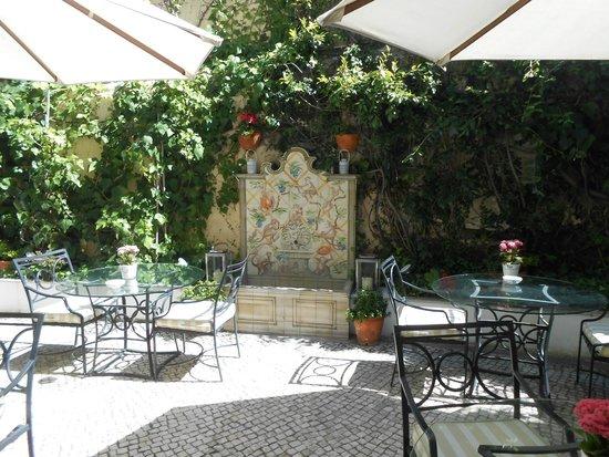 As Janelas Verdes: giardino