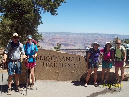 Four Season Guides - Day Hikes: South Rim. We made it!