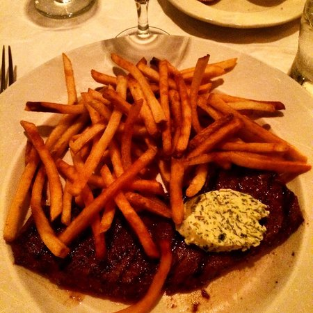 Bistrot Zinc : Steak and Frites! Yummy!