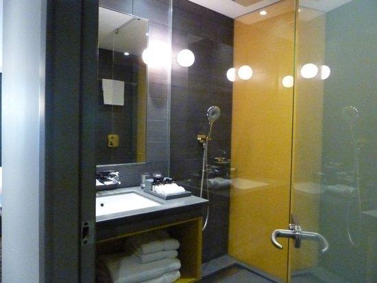 Pullman London St Pancras Hotel : bathroom, fab shower