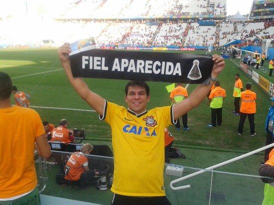 Corinthians Arena: Fiel aparecida na copa