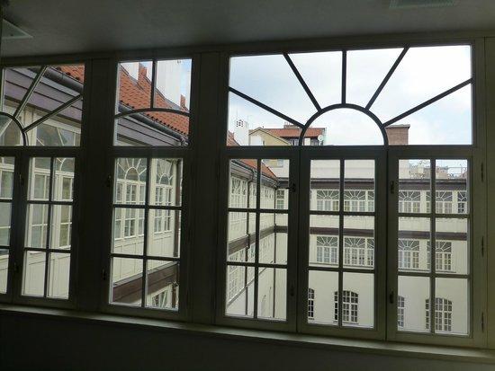 Barcelo Old Town Praha: The inner corridor