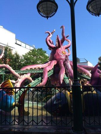 Jardins de Tivoli : Octopus