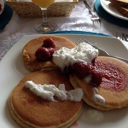 Aparthotel Blackpool: Breakfast Pancakes