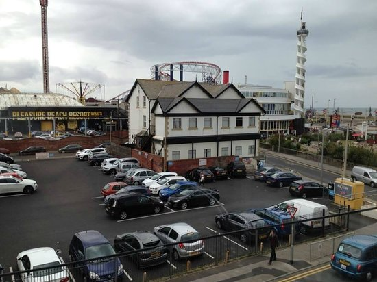 Aparthotel Blackpool : View from the Sitting Area.