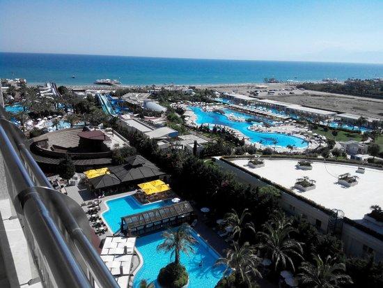 Liberty Hotels Lara : Вид с балкона