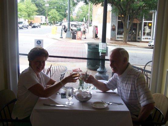 Table 16 Restaurant: Nice setting!
