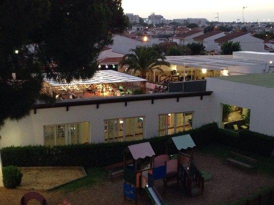 Carabela Beach & Golf Hotel: Espaço exterior