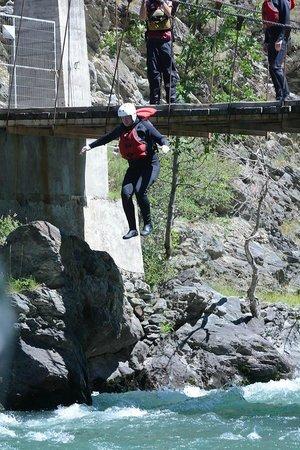 La Rafting Company: me jumping