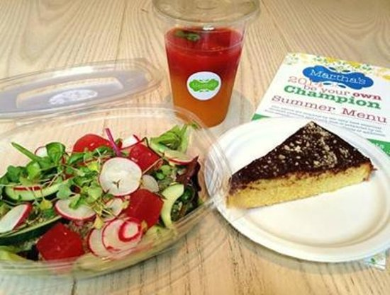 Martha's: Gluten Free Lunches packed with seasonal flavour