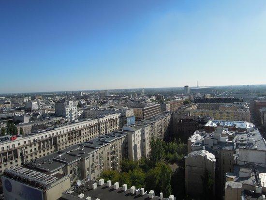Novotel Warszawa Centrum : vue de la ville